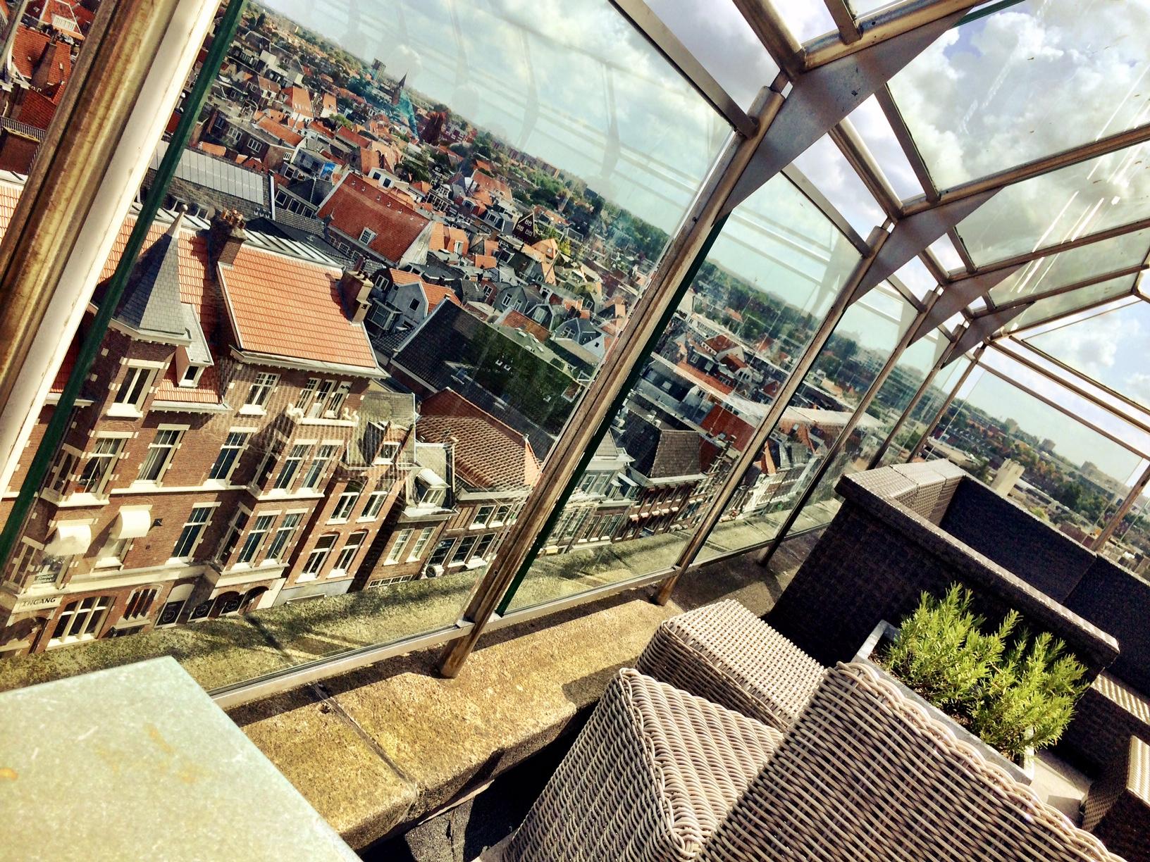 La Place dakterras Haarlem