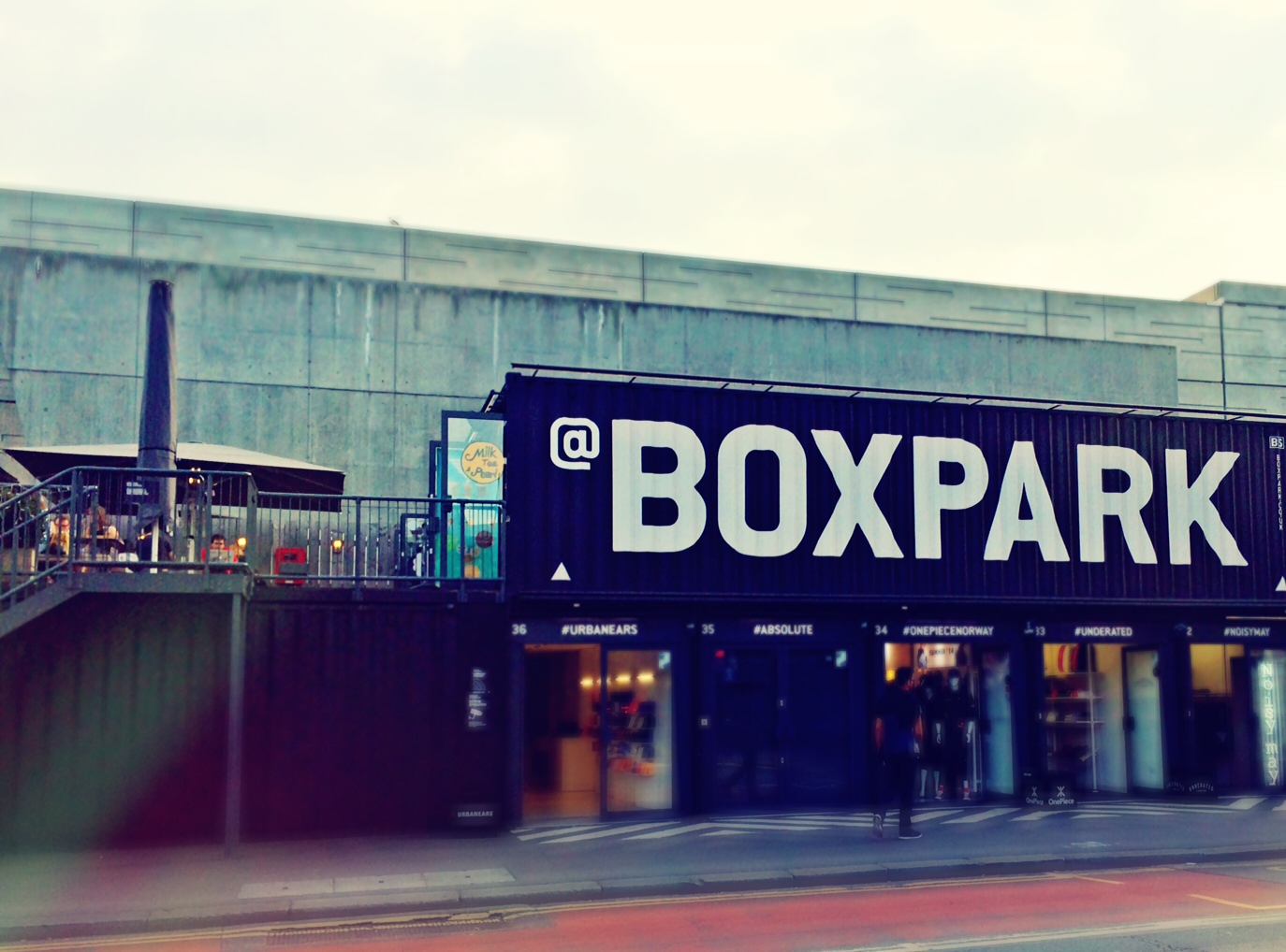 @Boxpark Shoreditch