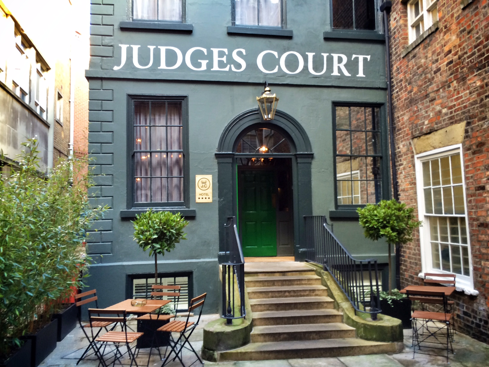 Judges Court Hotel York