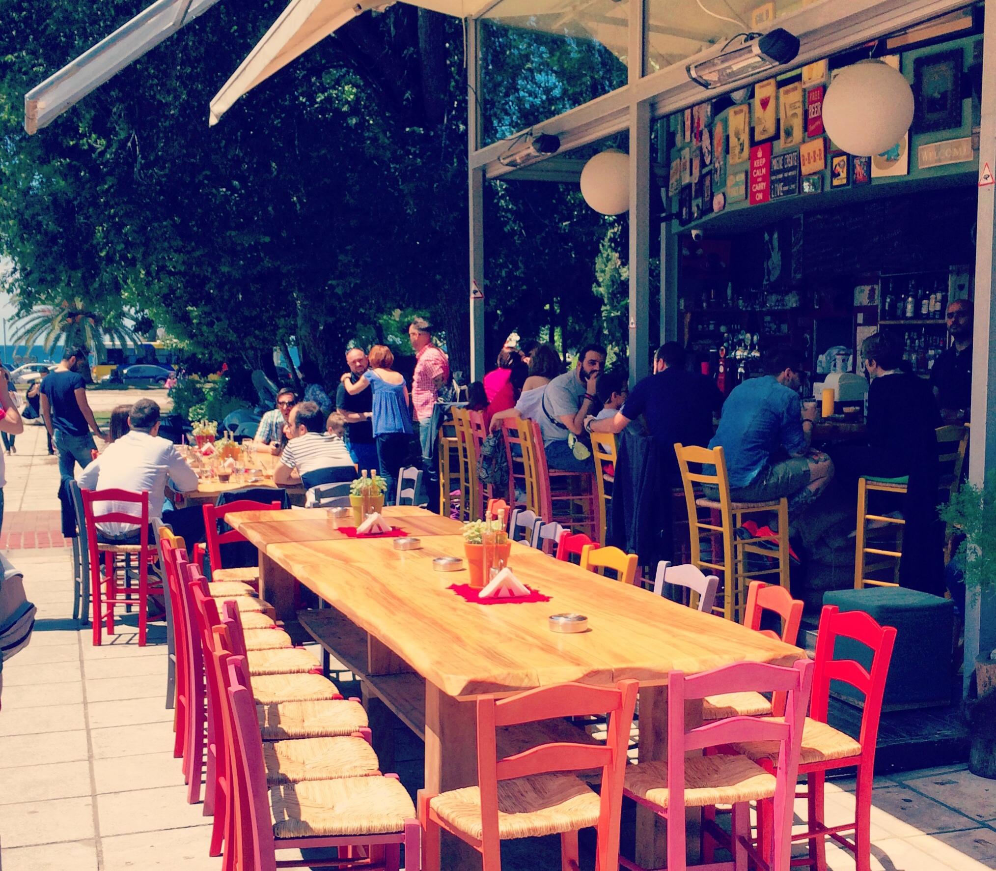 Bar in Thessaloniki - threehouse