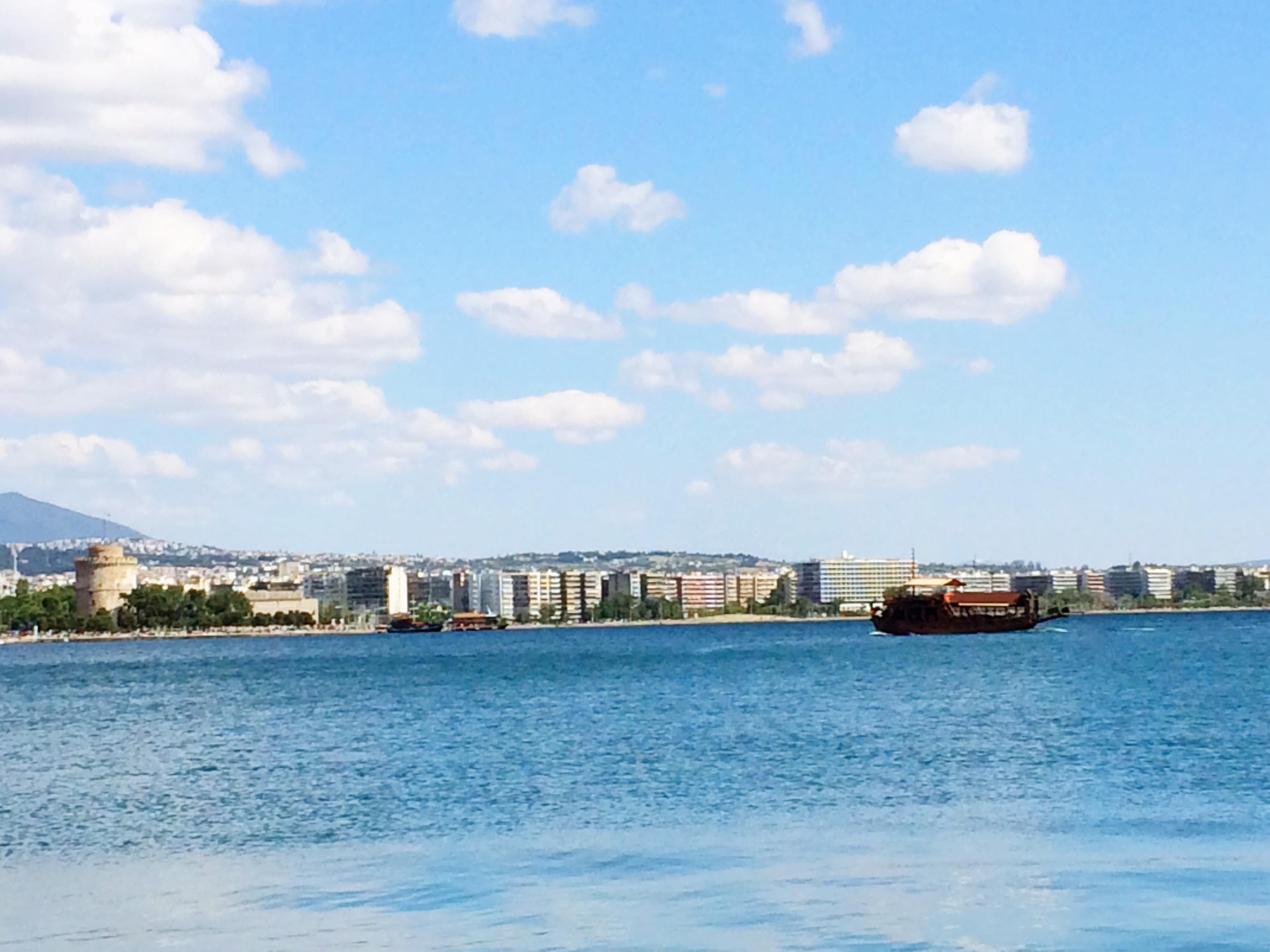 Kust van Thessaloniki