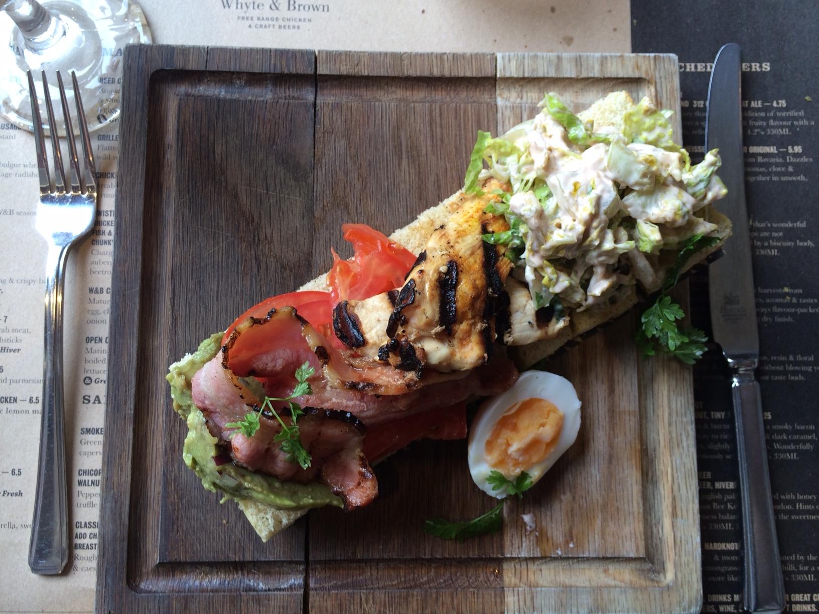 Whyte & Brown - restaurant Soho Londen