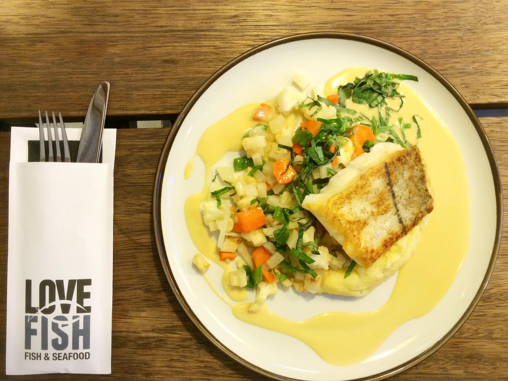 Restaurant LoveFish Antwerpen