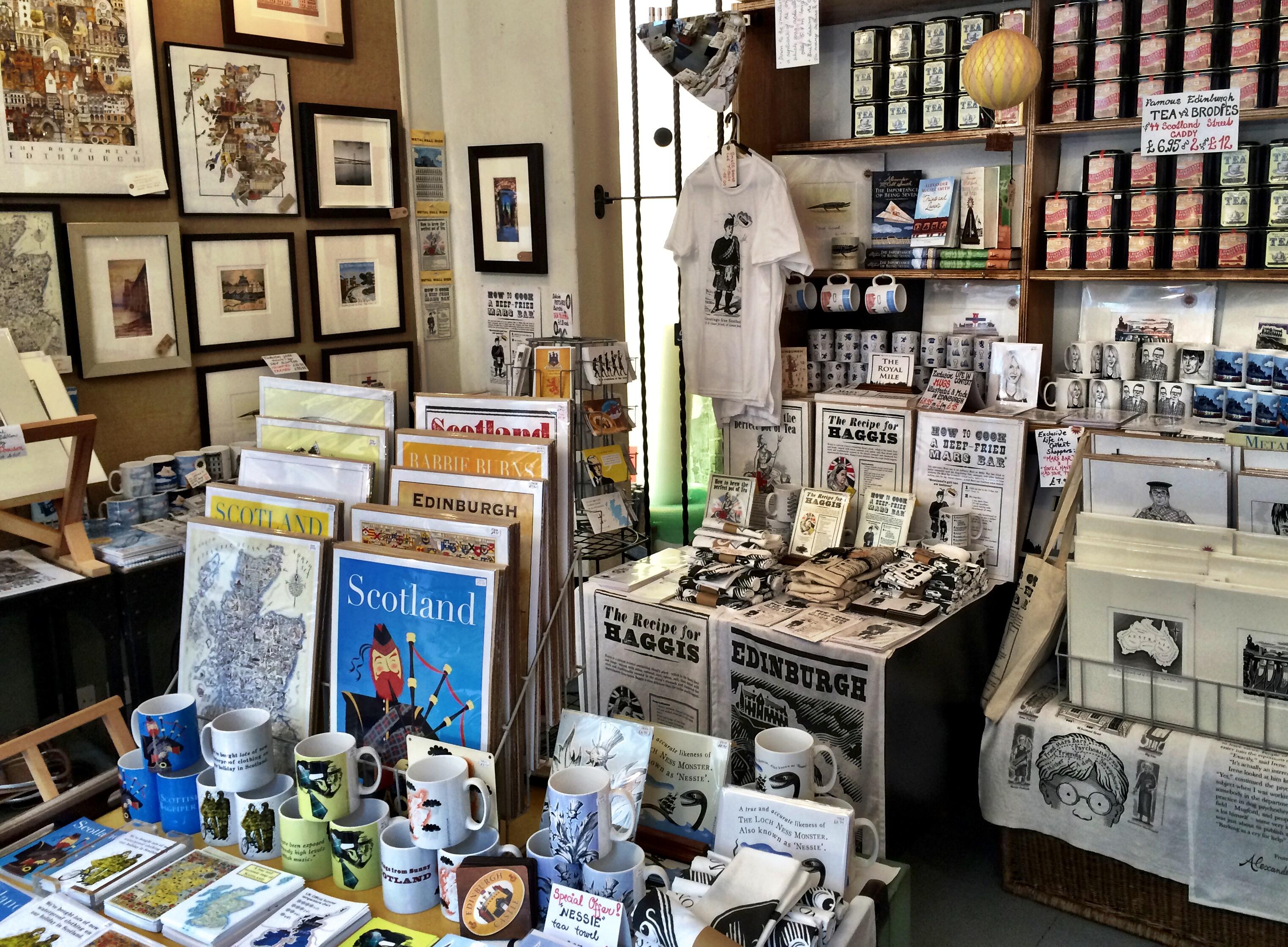 Old Town Context Shop Edinburgh